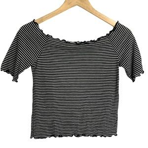 Caution To The Wind Striped Top
